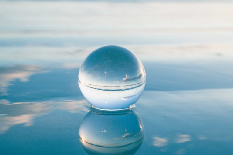 Using Scenario Planning | Glass, Crystal Ball against sky